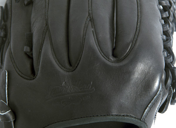 Infield/Pitcher Leather Baseball Glove - Black 11.75 Inch B-DHC 1175 PRO