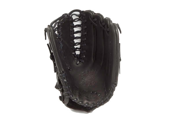 Outfield Leather Baseball Glove - Black 12.75 Inch