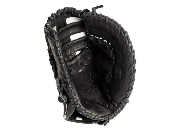 First Base Leather Baseball Glove - Black 12.75 Inch