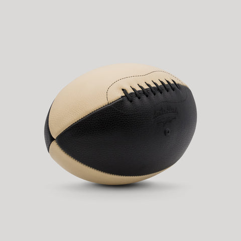 Black & Tan Rugby Ball