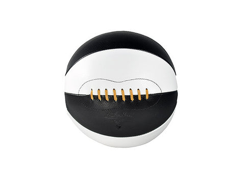 Leather Basketball - Black & White