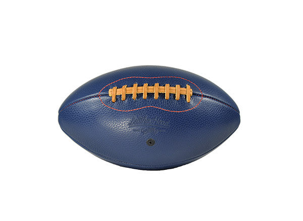 Big Blue Leather Football