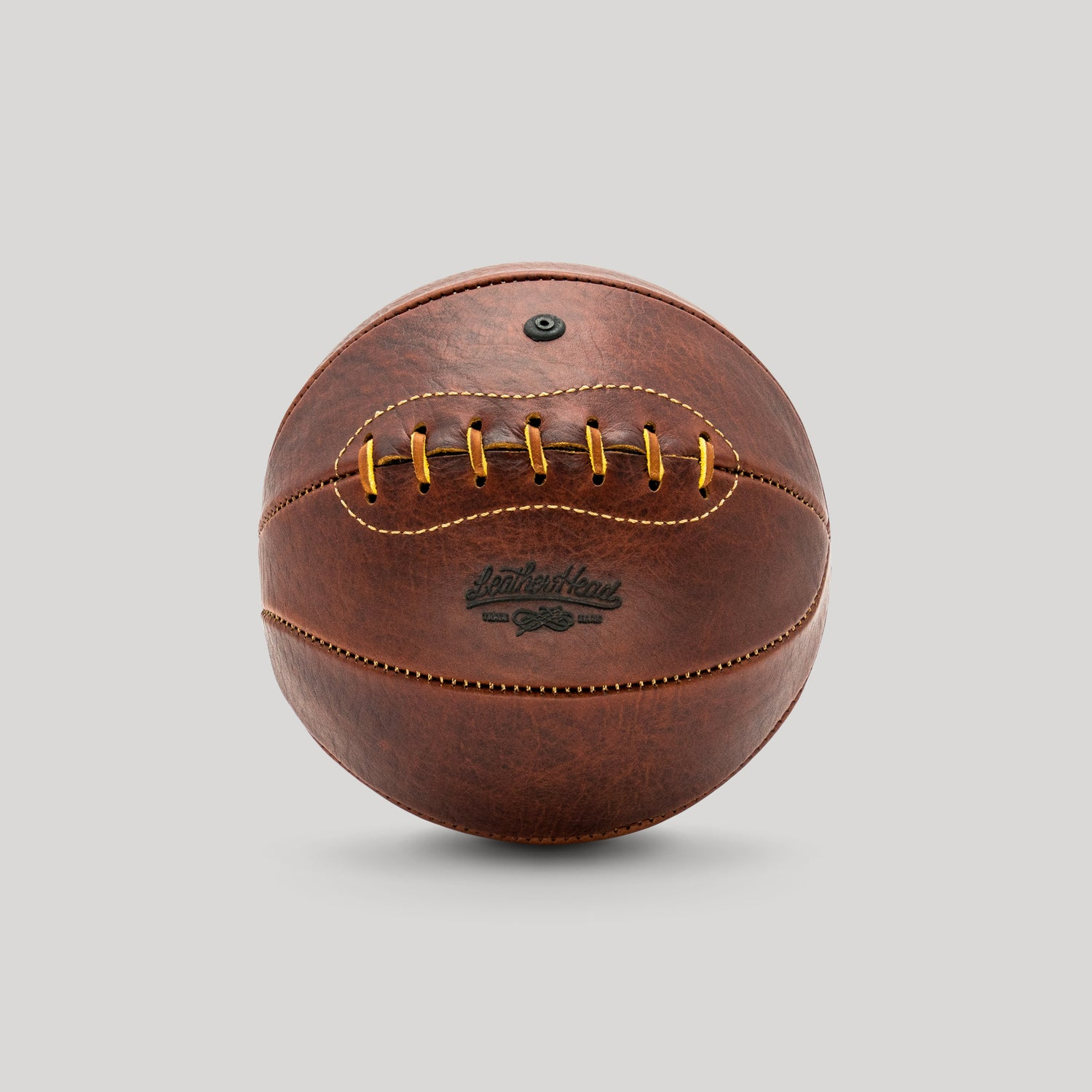Bison Leather Mini Basketball