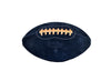 Black Suede Leather Head football 01