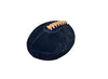 Black Suede Leather Head football 03