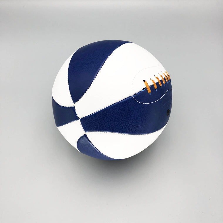 Blue and White Basketball