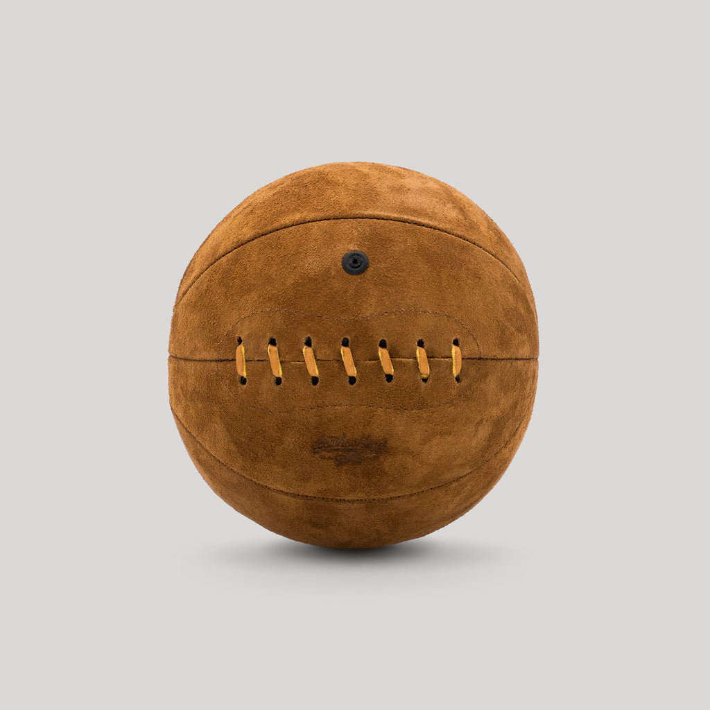 Brown Suede Mini Basketball
