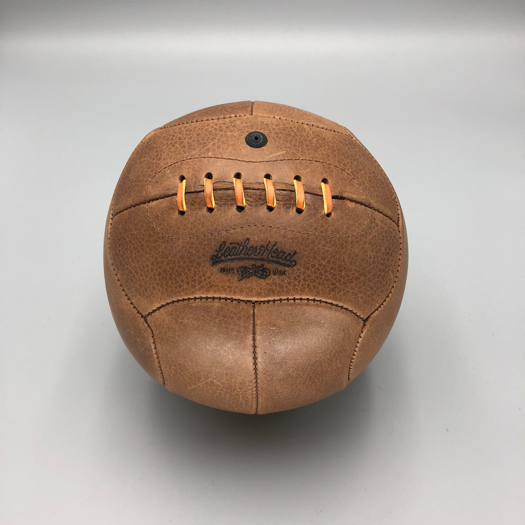 Brown No. 4 Soccer Ball, 12 panel
