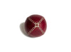 LEMON BALL™ baseball.  Burgundy Horween Chromexcel Leather, White Stitch   LB-BURG-WH