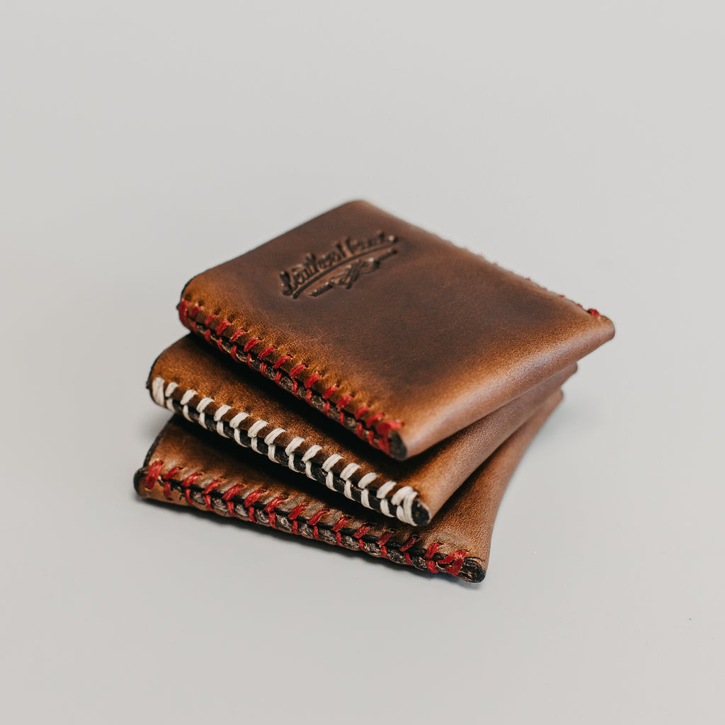 Leather Credit Card Sleeve