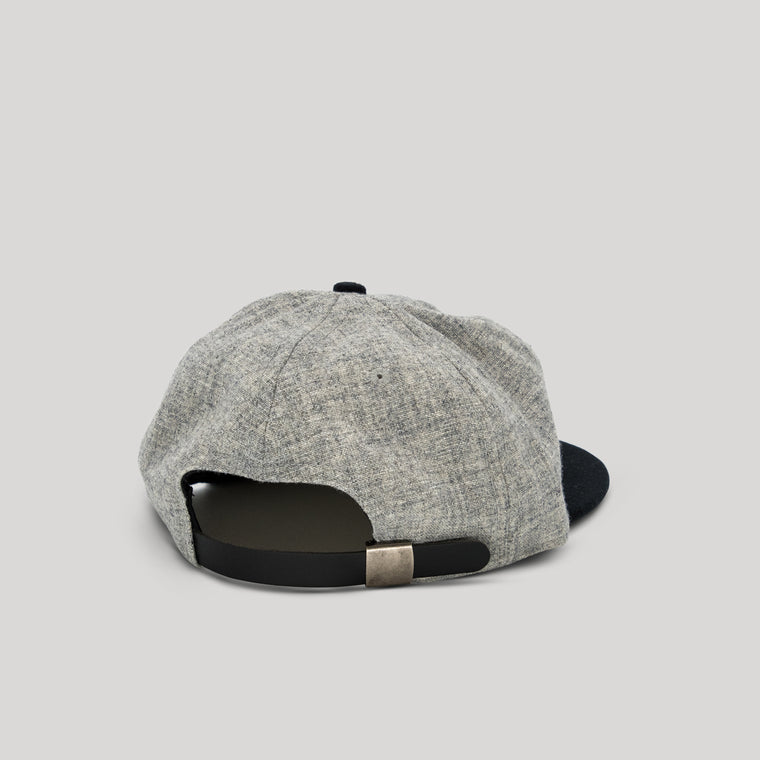 Ebbets Field Flannel Lemon Baseball Cap - Grey & Black