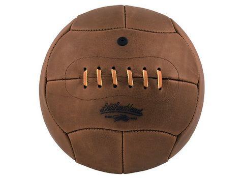 Handsome Dan 1930 era Leather Soccer Ball