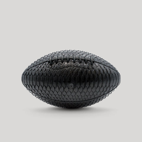 Black Python Football