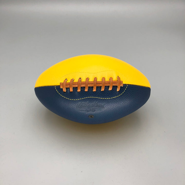 Blue and Yellow football, Rams colors