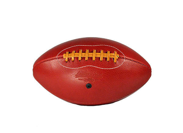Big Red Leather Football