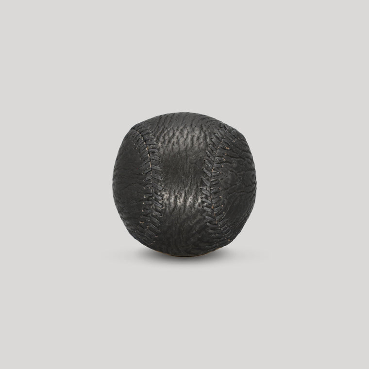 Shark Skin Leather with Black Stitch Figure 8 Ball