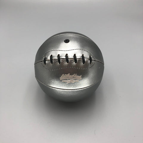 Mini Basketball, Silver Metallic