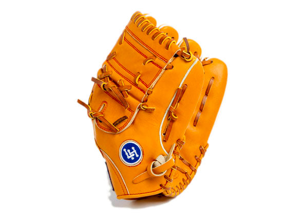 Pitcher's Leather baseball Glove - Tan 12 Inch