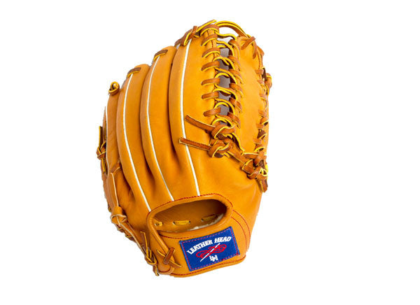 Outfield/Pitchers Leather Baseball Glove - Tan 12 Inch T-HH 1200 PRO
