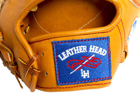 First Base Leather Baseball Glove - Tan 12.75 Inch