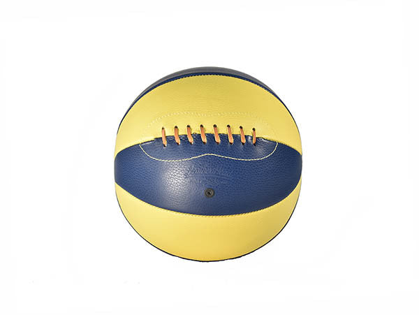 Suede Basketball - Blue & Yellow