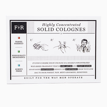 Fulton and Roark_Solid Cologne_info card