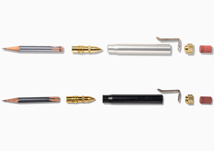 MSCT Bullet Pencils sectioned