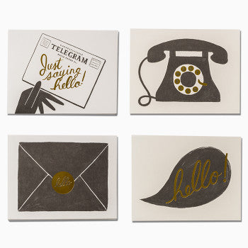Rifle Paper Co. Assorted Hello Cards
