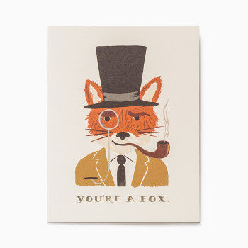 Rifle Paper Co. You're A Fox at Craft & Caro