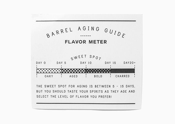 Barrel Aged Spirits Kit Flavor Meter