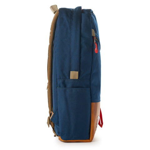 topo designs daypack navy leather right
