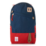 topo designs daypack navy red front