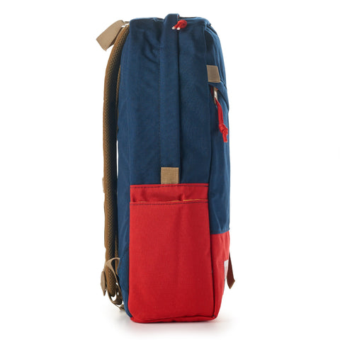 topo designs daypack navy red side