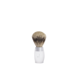 opaque acrylic shaving brush