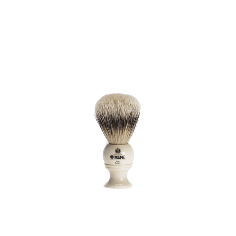 ivory resin shaving brush