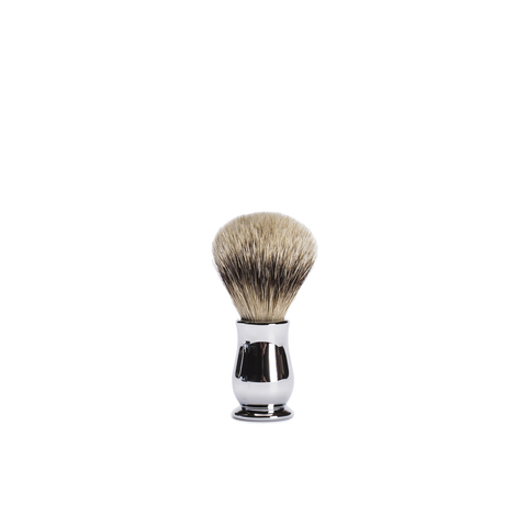 chrome chatsworth shaving brush