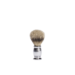 lined bulbous shaving brush