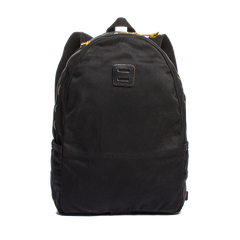 black canvas day pack