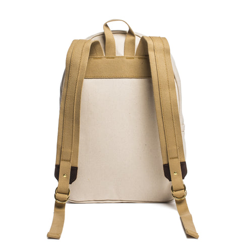 archival day pack natural back