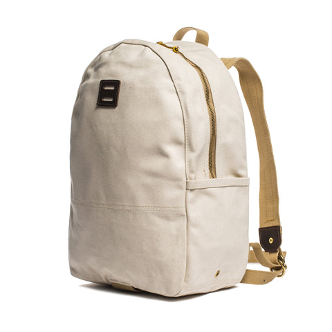 archival day pack natural front angle