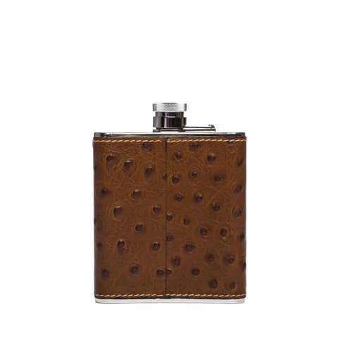medium steel flask