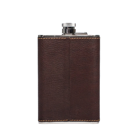 large steel flask