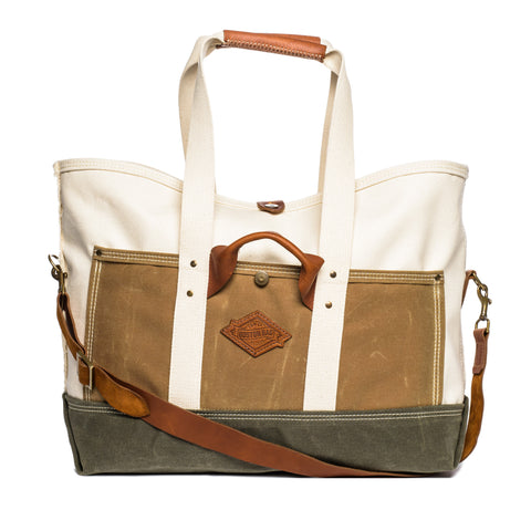 boston bag co revival series field grass front
