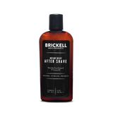 brickell instant relief aftershave front label