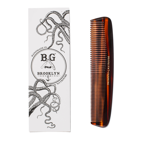 brookyln grooming pocket comb