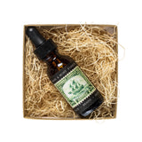 brothers artisan oil beard oil sage and mist forest bottle in package