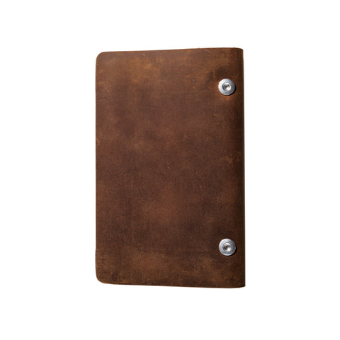 Bull & Stash The Travel Stash notebook back