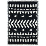Burrow Handmade Goods Woven Cotton Throw Blanket Finding Home back
