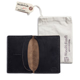 navy traveler wallet