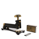 el casco large stapler black and gold detail